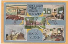 Hardin Junior College & Music Conservatory for Young Women Postcard - Mexico Mo
