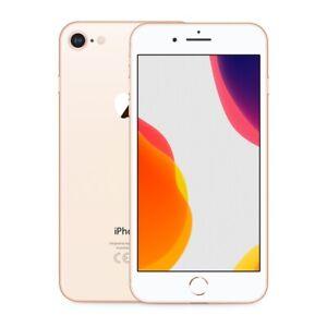 Apple iPhone 8 64GB 128GB 256GB GOLD Unlocked GSM/CDMA/LTE Warranty Grades A/B/C