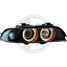 Scheinwerfer Set für BMW E39 00-03 Xenon/Schwarz D2S + H7