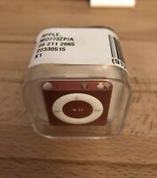 Factory Sealed Apple iPod Shuffle 4th Generation Pink (2GB)
