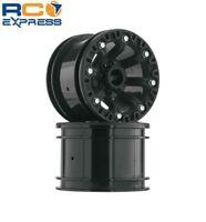 Duratrax Crawler Wheel 2.2 Black (2) DTXC3857