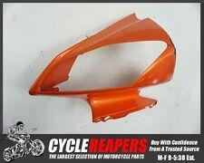 D015 2009 09 10 08-16 Yamaha YZF R6 R6R Left Upper Headlight Cover Fairing OEM