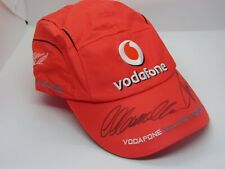 Signed Lewis Hamilton, Fernando Alonso Cap, Mclaren 2007