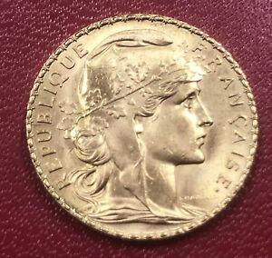 20 Francs Or Marianne 1910 - 3ème République