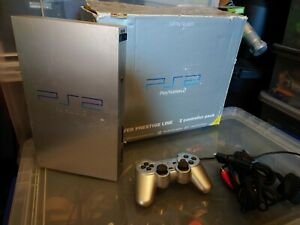 PS2 Fat Silver Console Unit Boxed Spares