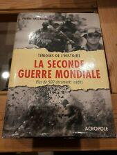 Pierre Vallaud -Témoins de l'histoire : la seconde guerre mondiale