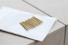 12 Pins Brass Rod Straight Razor Pin