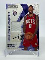 Terrence Williams 2009-10 Panini Rookies & Stars Rookie RC Auto /25 ( Nets )