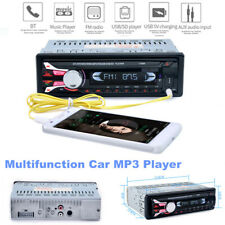 Single Din Car Stereo Bluetooth Mp3 Player Hands-free Call Audio Radio Receiver