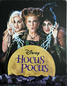 Disney Blu Ray HOCUS POCUS - Ed. Steelbook Zavvi Exclusive -