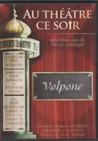 Au Theatre Ce Soir Dvd Volpone Ben Jonson Francis Huster Lemaire Jean Le Poulain