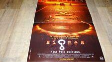 SIGNES ! m. night shyamalan affiche cinema science fiction