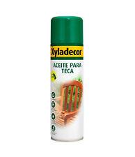 Aceite para teca incoloro Xyladecor (500 ml (spray))