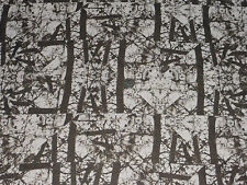 CHIFFON  - HAUNTED ABSTRACT PRINT DRESS FABRIC -1.45 METRES
