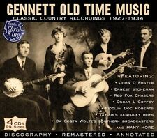 Various Artists - Gennett Old Time Music: Classic Country / Various [New CD] Rms