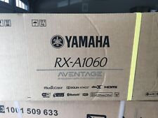 New listing Yamaha Aventage Rx-A1060 receiver with Wi-Fi,Bluetooth, AirPlay, and Dolby Atmos