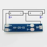 Lithium LiPo Cell Li-ion BMS Battery 18650 Protection 7.4V 7A Board PCB 2S O4X9