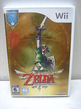 NINTENDO WII THE LEGEND OF ZELDA SKYWARD SWORD GAME COMPLETE & TESTED