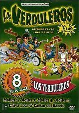 8 Peliculas-LOS VERDULEROS VOL 1 Y 2/ MOFLES 1,2,3, Y 4/CAIFAN DEL BARRIO 2 dis