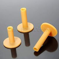 54/70/83mm 3Pcs Golf Tees Plastic Rubber Holder Tee Driving Range Practice Mat