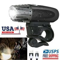 USB Rechargeable LED Bicycle Bright Bike Front Headlight Lamp Light Waterproof