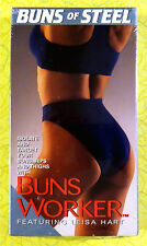 Buns of Steel - Buns Worker ~ New VHS Movie ~ Leisa Hart Workout Exercise Video