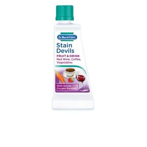 DR Beckmann Stain Devils Remover Cleaner Fruit Drink Red Wine Coffee Wash 50ml