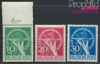 Berlin (West) 68-70 geprüft postfrisch 1949 Währungsgeschädigte (8894208