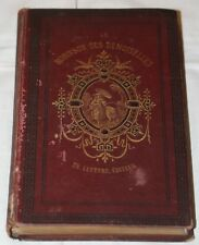 Madame Woillez - Le Robinson des demoiselles - 1870 - 7  sepia litho's