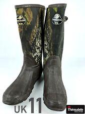 Wellington Boots Mens Camo Neoprene UK 11 Muck Field Fishing Hunting Waterproof