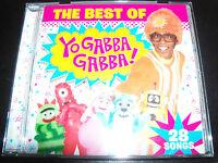 Yo Gabba Gabba The Best Of Kids Children's CD - NEW