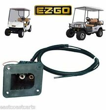 EZGO Golf Cart PowerWise Charger Receptacle 73063-G01, 73051-G01