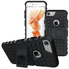 FUNDA  NEGRO  CARCASA ULTRAROCK ULTRAFINA MATE PARA iPhone 7  BUMPER SOPORTE