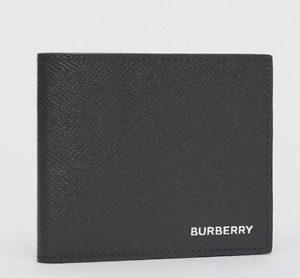 NEW $ 350 Burberry Grainy Leather International Bifold Coin WalletPrice