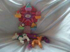 My Little Pony Musical Ice Cream Cone Ferris WORKS! - Wheel Bin Y