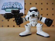 Star Wars Galactic Heroes STORM TROOPER w/ Blaster in Right Hand