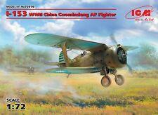 ICM 1/72 Model Kit 72076 Polikarpov I-153, WWII China Guomindang AF Fighter