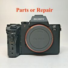 Sony Alpha a7 ii 24.3MP a7II Mirrorless Digital Camera - Black Parts or Repair
