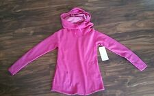 LUCY DANCE WORKOUT PULLOVER SWEATSHIRT LU-1120133EB sz. Med. Pink dawn heather