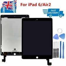 For Apple iPad Air 2 A1566 A1567 LCD Digitiser Touch Screen Replacement Black