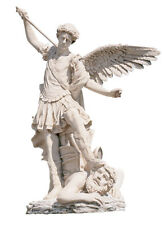 17-century St Michael Archangel by Guido Reni Christian Statue Sculpture Replica