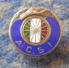 AUDAX CLUB SPORTIVO ITALIANO SANTIAGO CHILE FOOTBALL SOCCER 1970's ENAMEL PIN