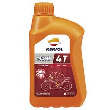 ceite Repsol Moto Racing 4T 10W50 | 1 Litro | Lubricante | Motor | ¡Envío 24h!