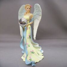 Guardian of the Garden Petals of Hope Angel Figurine Thomas Kinkade