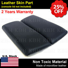 Fits Mazda Cx 9 10 15 Center Console Lid Armrest Leather Synthetic Cover Black Fits Mazda