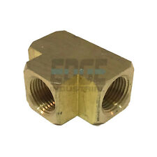 BRASS TEE Fitting EQUAL T  3/8
