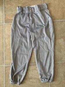 Wilson Youth Large Baseball Pant, Gray