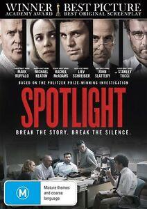 Spotlight (DVD, 2016) NEW+SEALED