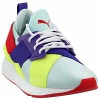 Puma Muse Speckle Junior Sneakers Casual    - Blue - Boys