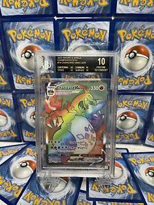 Pokemon Charizard VMAX Secret Rare Champion's Path - GRADED BGS 10 BLACK LABEL